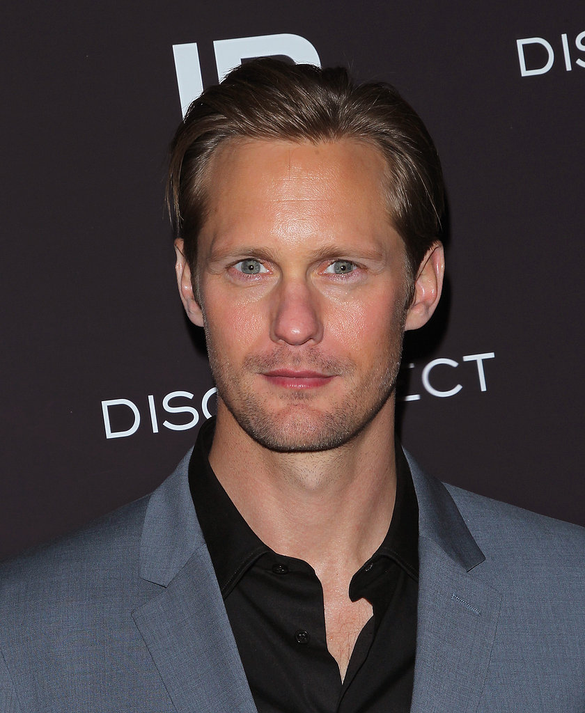 Alexander Skarsgard Suits Up to Screen Disconnect in the Big Apple