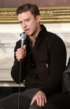 Justin Timberlake spoke to students during the Soulsville, USA: The History of Memphis Soul event at the White House.