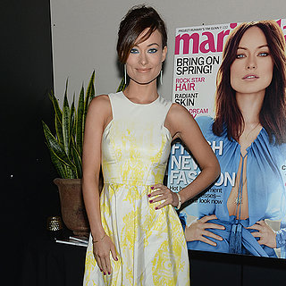 Olivia Wilde at Marie Claire April 2013 Party | Video