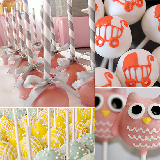 Pop Star! 20 Adorable Baby Shower Cake Pops