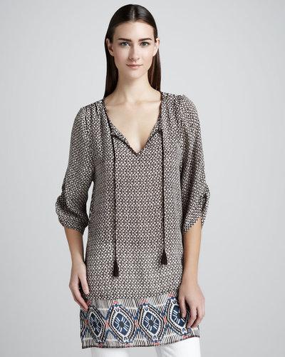 Tolani Sarah Ikat-Print Tunic, Women's
