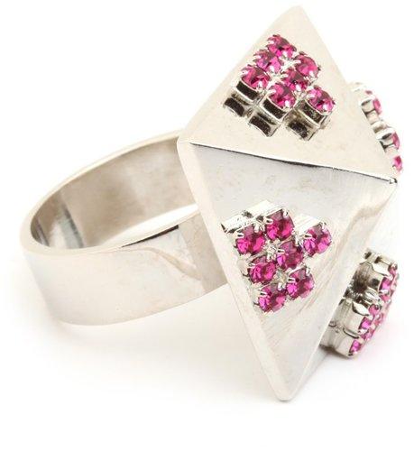 Sophie Blake Pink Pyramid Ring