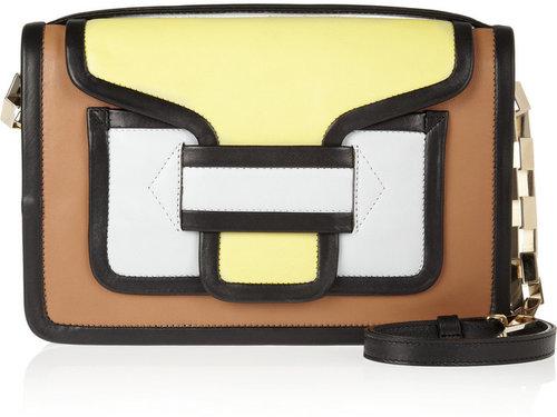 Pierre Hardy Color-block leather shoulder bag
