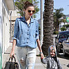Miranda Kerr Holding Hands With Flynn Bloom in LA