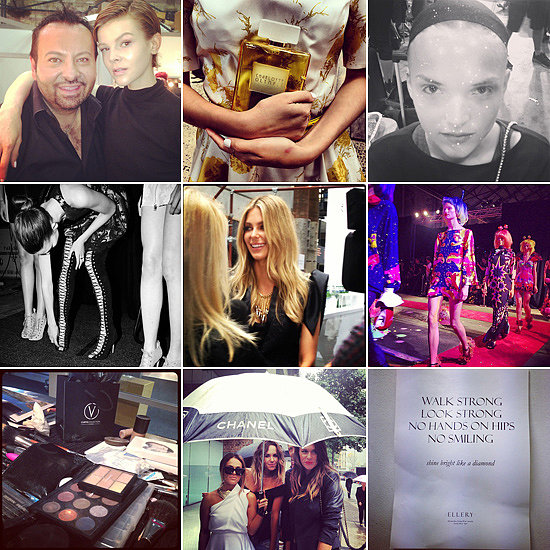 Behind The Scenes: Fashion & Beauty Candids At 2013 MBFWA!