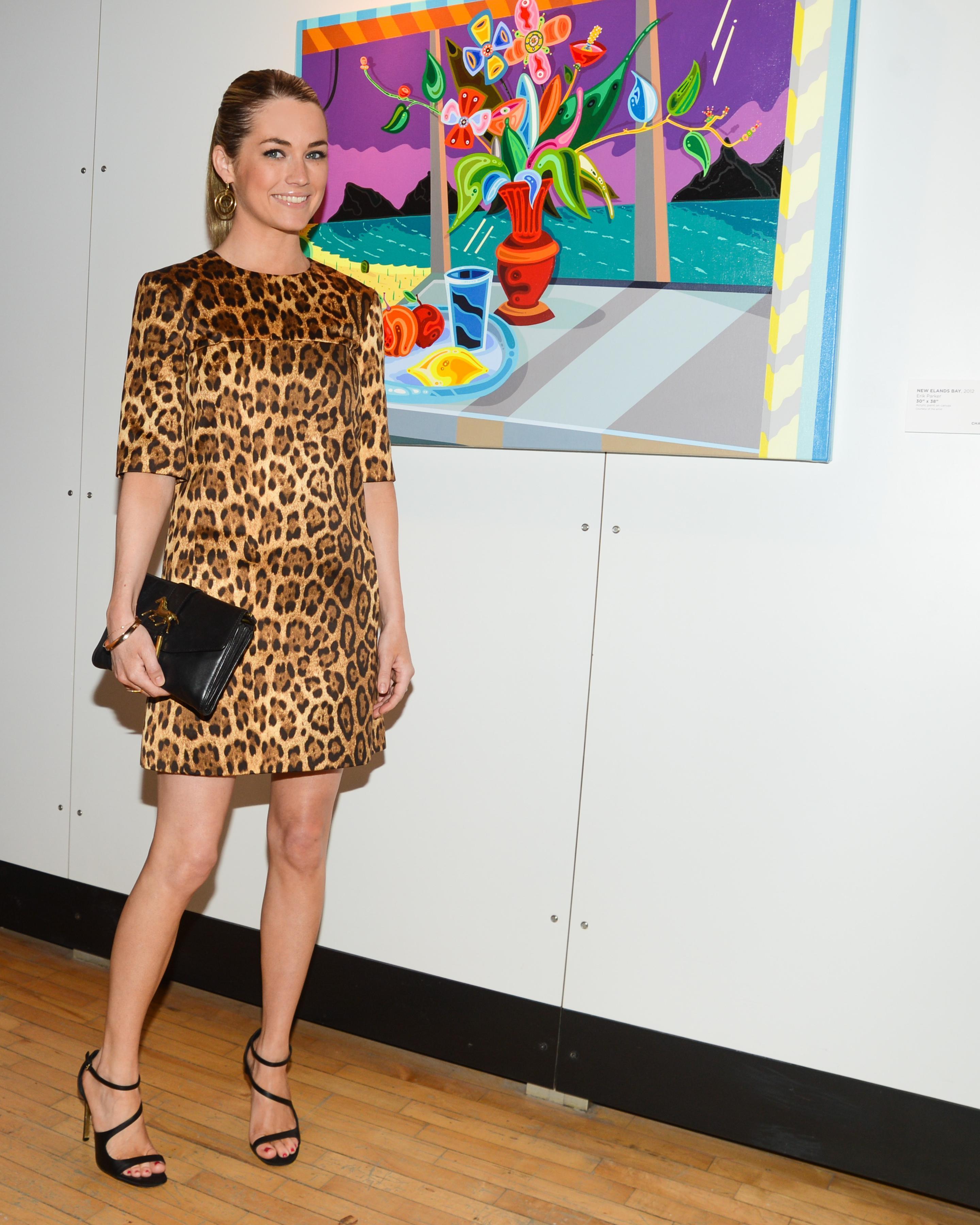 Amanda Hearst at New York Academy of Art's Tribeca Ball in New York ...