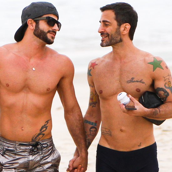 Marc Jacobs and Harry Louis Take Their Shirtless Romance to the Beach — Again