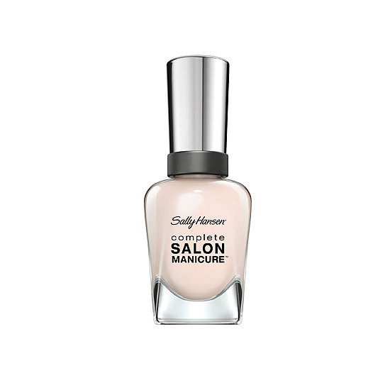 Sally Hansen Complete Salon Manicure in Sheer Ecstasy ($8) is like BB cream for your nails: a sheer wash of color that enhances what's already there.