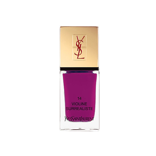 YSL La Lacque Couture in Violine Surrealiste ($25) makes a vibrant statement in a shade that exudes high fashion.