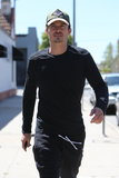 Orlando Bloom kept it casual in LA on Wednesday.