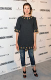 Agyness Deyn was in attendance at the London Show Rooms opening party in LA.