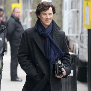 Sherlock Season 3 Filming Pictures