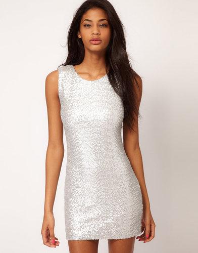 TFNC Sequin Dress Sleeveless