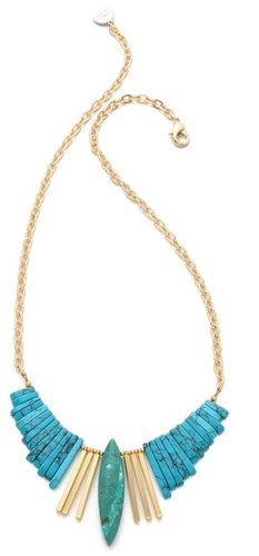 Gemma redux Turquoise Refined Bib Necklace