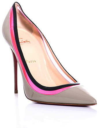 Christian Louboutin 100mm Paulina shoes