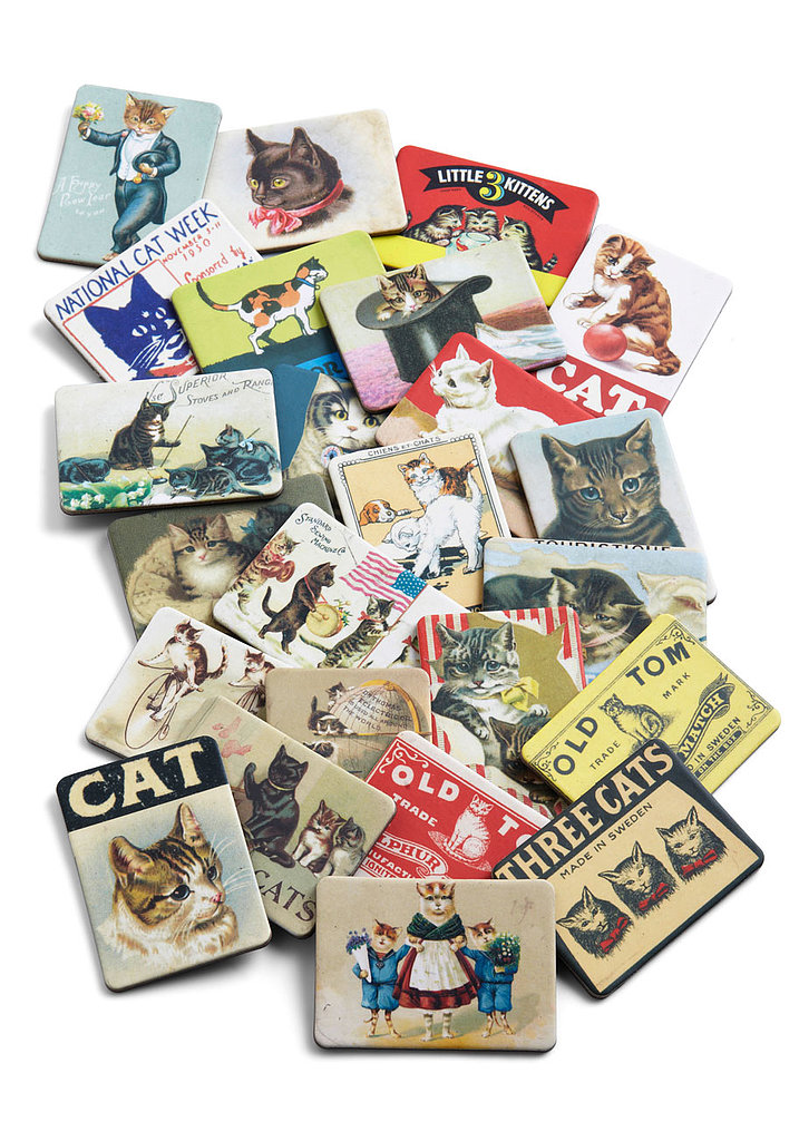 Fur-romagnet Set in Cats ($20)