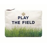 Got a gaggle of single gals in your bridal party? Remind them to play the field with Kate Spade's Cosmetic Case ($78).