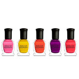 They're your girls, so why not show them what they mean to you? Give each one a polish from the Deborah Lippmann Run the World (Girls) collection ($45 for all five). Or if you're really feeling generous, why not give them each a set?