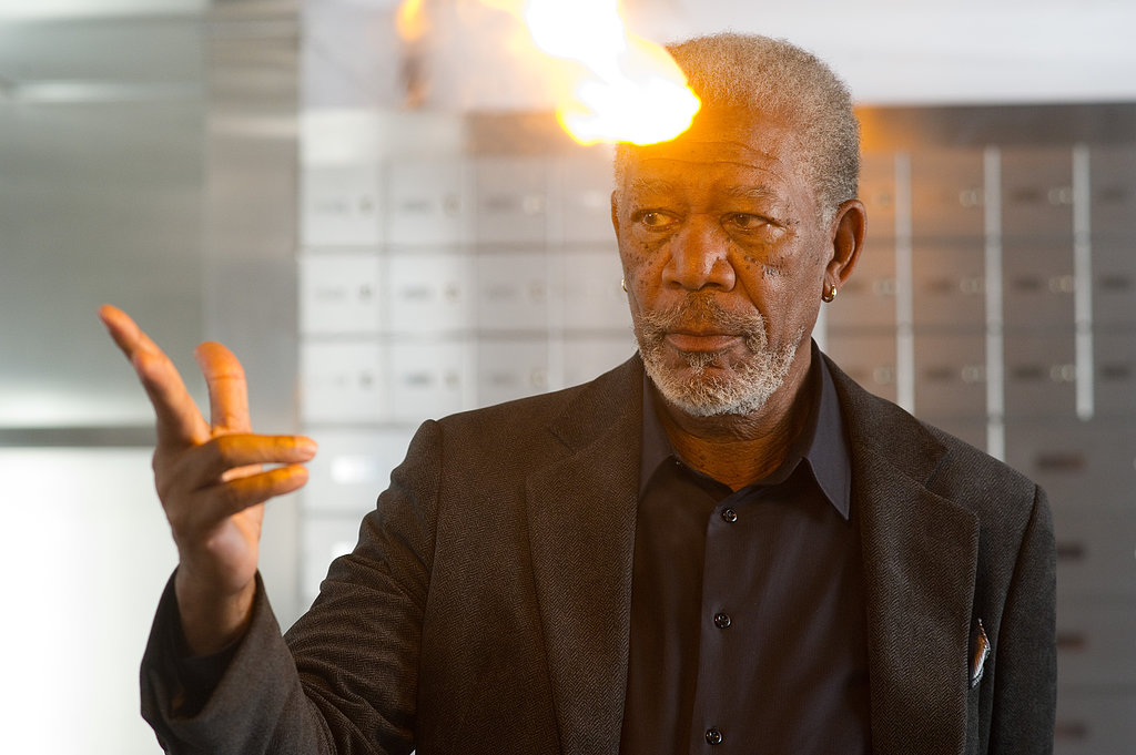 Morgan Freeman in Now You See Me.