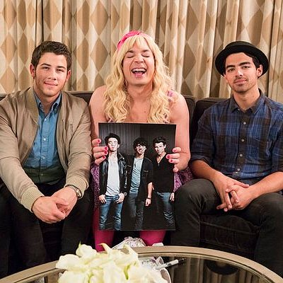 Jimmy Fallon Jonas Brothers Ew Skit