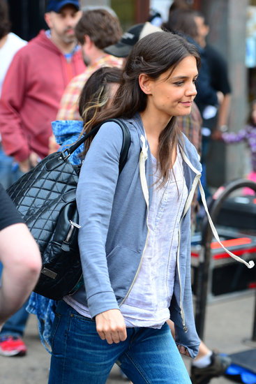 Katie Holmes Heads Back to Work on a New Spike Lee Film