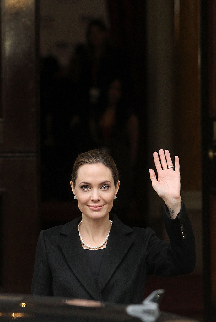 Angelina Jolie Addresses the G8 Summit in London