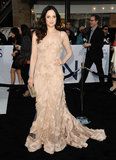 Andrea Riseborough attended the Oblivion premiere in Hollywood.