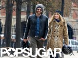 Bradley Cooper and Suki Waterhouse went on a walk in Paris.