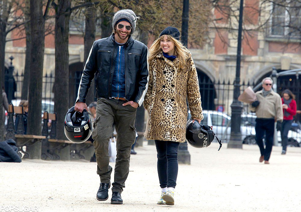 Bradley Cooper and Suki Waterhouse Show PDA in Paris