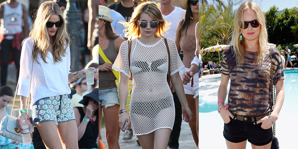 See the Best Celebrity Style From Last Year's Coachella