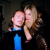 Matthew Williamson celebrated his Instagram debut with a photo of himself and Sienna Miller. Source: Instagram user matthewwilliamson