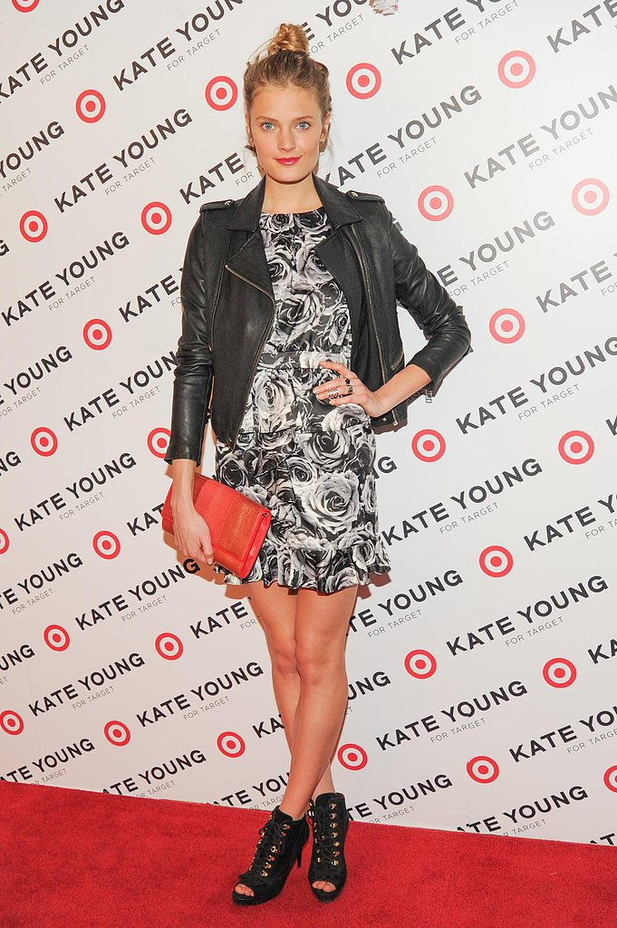 Constance Jablonski wore Kate Young for Target at the Kate Young for Target launch event in New York. Photo: Neil Rasmus/BFAnyc.com