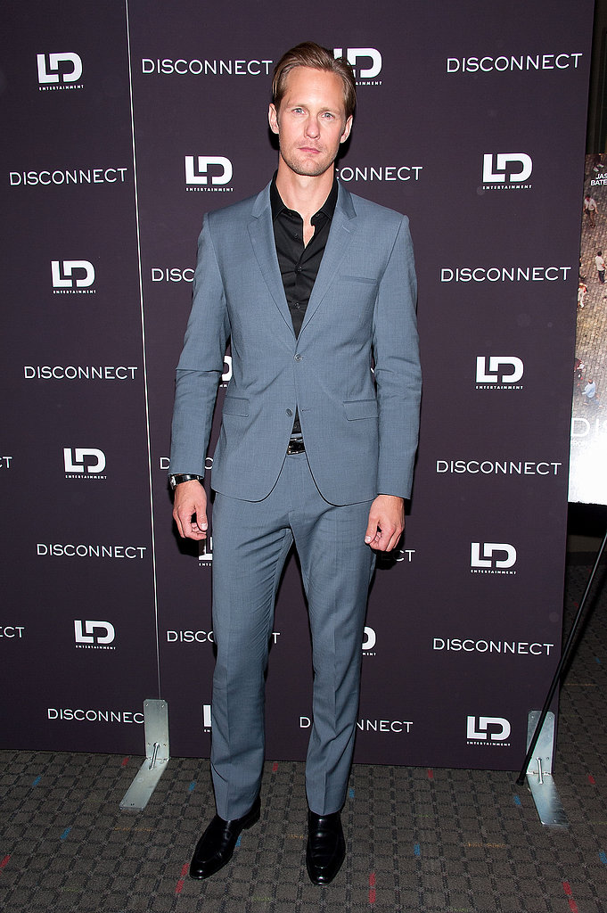 Alexander Skarsgard at the Disconnect screening in New York.