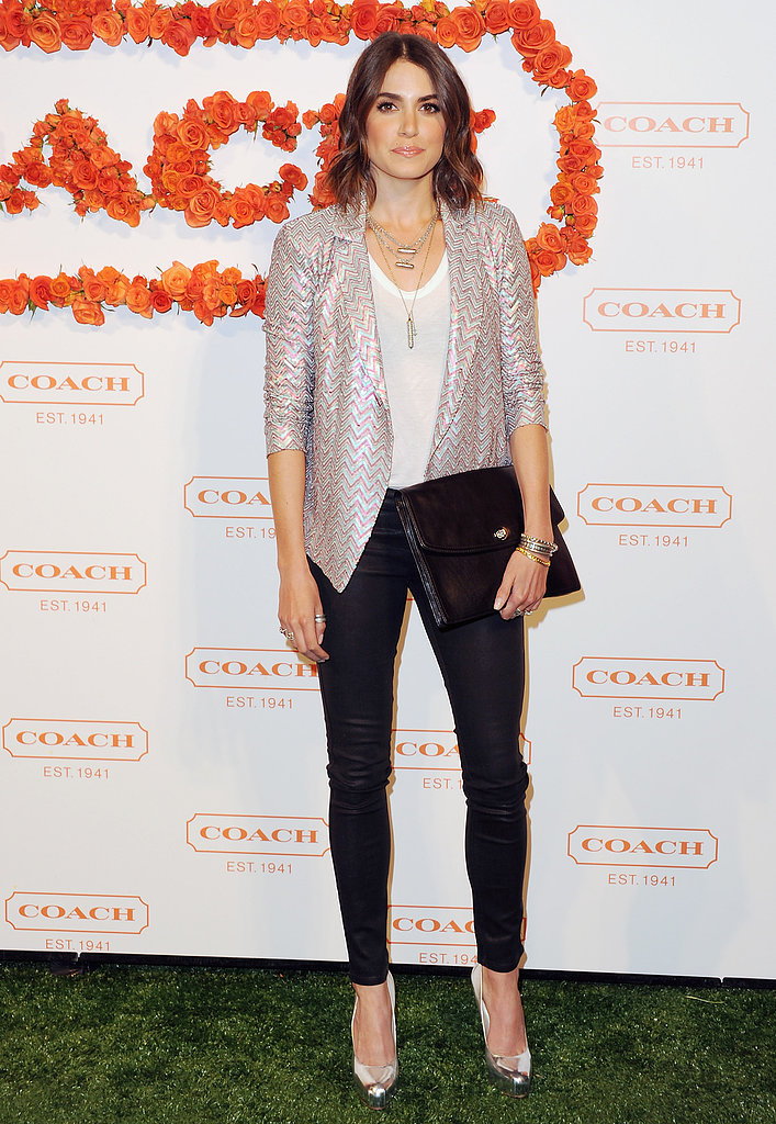 Nikki Reed at Coach's third annual Evening of Cocktails and Shopping in Santa Monica.