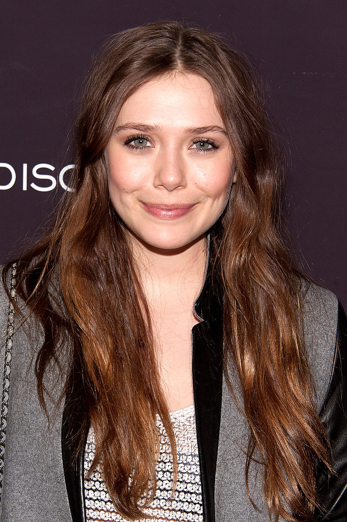 Attending a special screening of the film Disconnect in New York, Elizabeth Olsen stuck with a natural beauty look that featured her glowing skin and long hair.