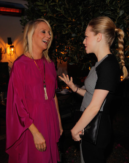 Amanda Seyfried chatted with Allure editor in chief Linda Wells.