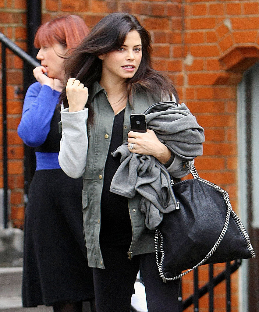 Jenna Dewan Preps For a Baby Across the Pond