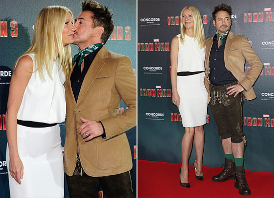 Video: Gwyneth and RDJ Embrace Bavaria, and More Headlines!