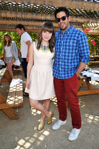 Sophia Bush and Eli Roth hung out at Bazaar's Coachella party in 2013.
