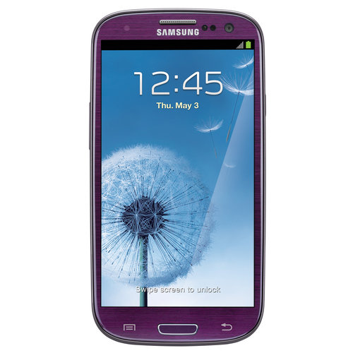 Samsung Galaxy S3 in Purple
