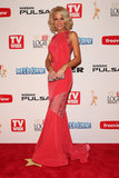 Carrie Bickmore made a dramatic entrance in Steven Khalil at the 2013 Logie Awards on April 7.