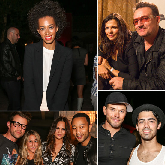 Solange Knowles, Bono and John Legend Keep the Music Coming at Studio Africa's Coachella Bash