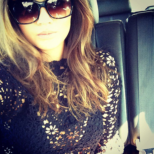 Chrissy Teigen was battling a cold on her way to Coachella. Source: Instagram user chrissy_teigen