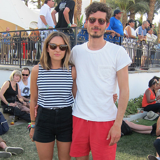 Feast Your Eyes on the Cutest Coachella Pairings