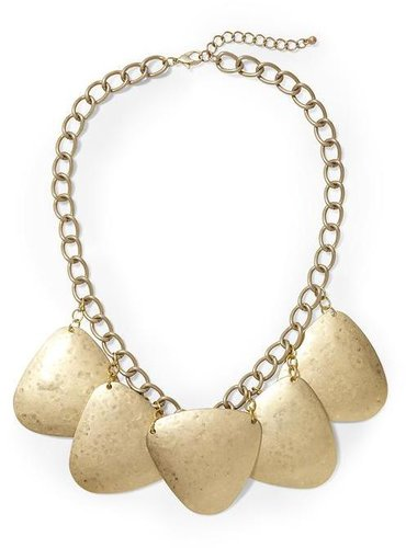 Hive & Honey Round Triangles Statement Necklace