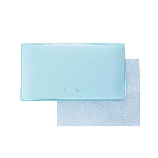 Shiseido Pureness Oil-Control Blotting Papers ($19) are lightly coated with powder to help control excess sebum production.