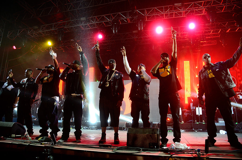 Crowds went crazy Sunday over Wu-Tang Clan.