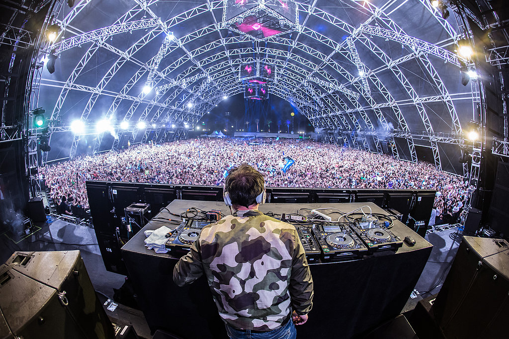 Benny Benassi performed to a packed house on Saturday.