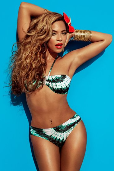 Beyoncé sported a colorful bikini in her new Summer H&M ad.