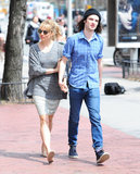 Sienna Miller and Tom Sturridge Show Love in the Afternoon